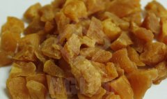 Enjoy Dry Peach Dices in Winter