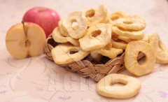 Dried Apple Fruits Rings for Halloween