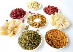 Various Dried Fruits List for Christmas Holiday