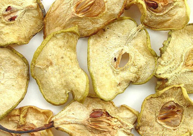 Dry Pear Slices